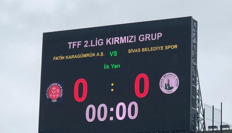 Fatih Karagümrük - Sivas Belediyespor canlı izle (Fatih Karagümrük - Sivas Belediyespor hangi kanalda?)