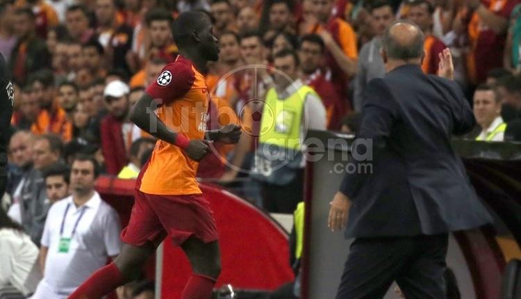 Fatih Terim kırmızı kartta Ndiaye'ye sinirlendi: 'İçeri git!'