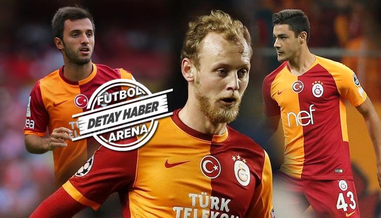 Fatih Terim'in Galatasaray'da ilk 11'e aldığı genç oyuncular