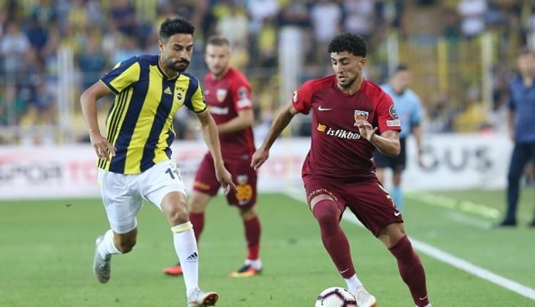 Fenerbahçe 2-3 Kayserispor maç özeti ve golleri (İZLE)