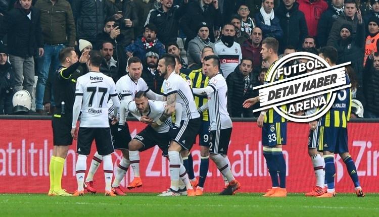 Fenerbahçe - Beşiktaş derbilerinde kırmızı kart yağmuru!