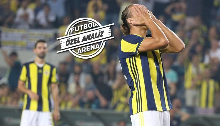 Fenerbahçe'nin sorunu hücumda! Şut atılmıyor