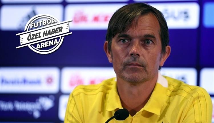 Fenerbahçe'de Philip Cocu gönderiliyor mu? Yönetimin kararı