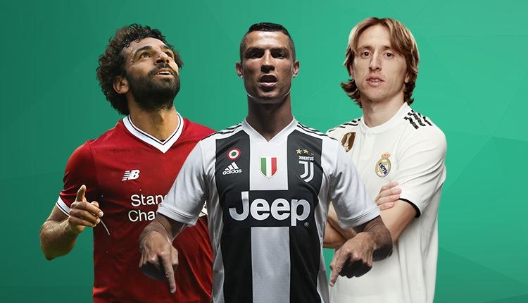 FIFA, en iyiler için adayları açıkladı