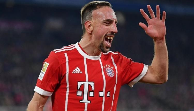 Frank Ribery'den Galatasaray paylaşımı