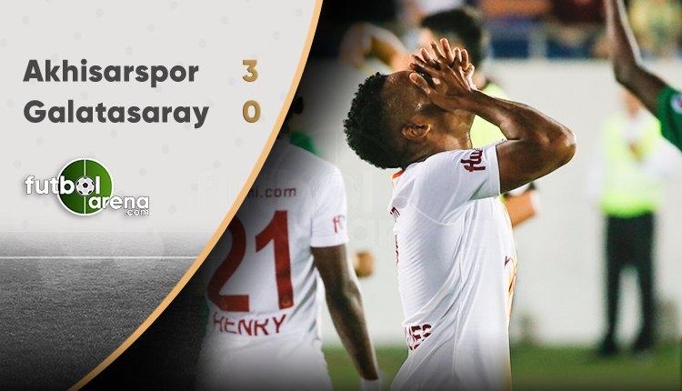 Galatasaray, Akhisarspor deplasmanından yara aldı