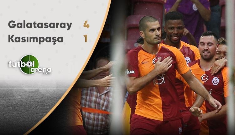 Galatasaray 4 - 1 Kasımpaşa maçın özeti ve golleri (İZLE)
