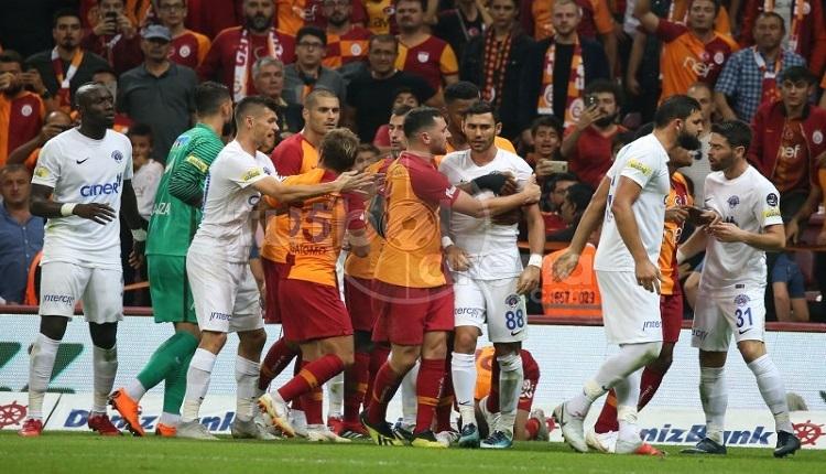 GS Haber:Galatasaray - Kasımpaşa maçında olay! Bir anda...