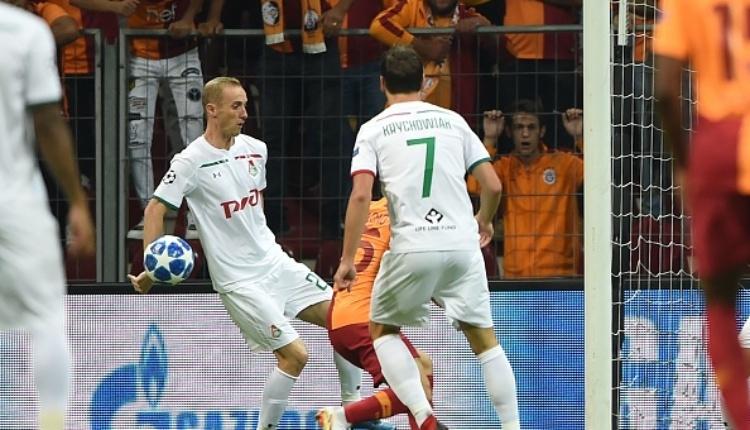 Galatasaray - Lokomotiv Moskova maçında yaşanan penaltı tartışmaları