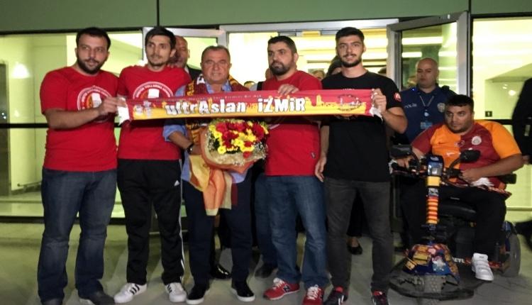 GS Haber: Galatasaray'a İzmir'de coşkulu karşılama