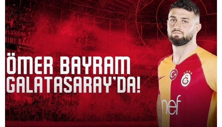 Galatasaray'a Ömer Bayram'dan kötü haber