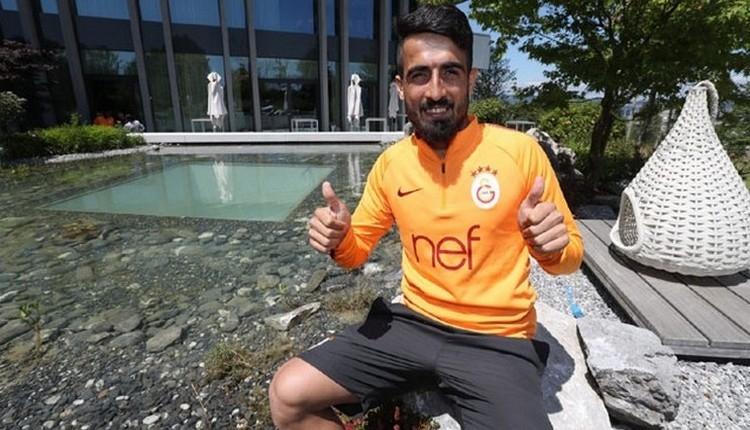 Galatasaray'da Ahmet Çalık ve Muğdat Çelik tribüne