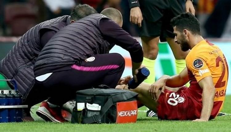 Galatasaray'da Emre Akbaba ameliyat oldu