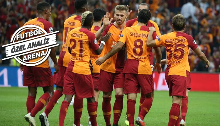 Galatasaray'da pas yok, gol var!