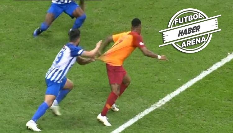 Garry Rodrigues'in Erzurumspor maçında penaltı isyanı