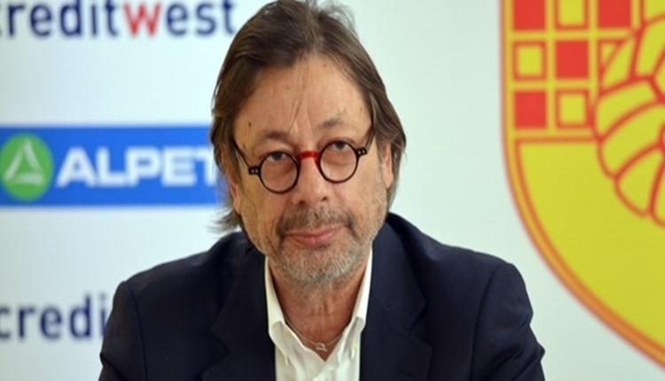 Göztepe Başkanı Mehmet Sepil'den transfer itirafı