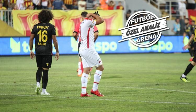 Göztepe ve Yeni Malatyaspor'un eksiği şut!