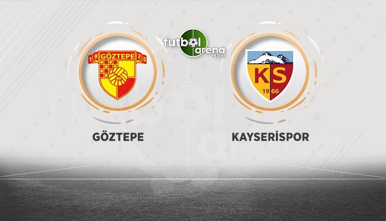 Göztepe'nin Kayserispor maçı ilk 11'i