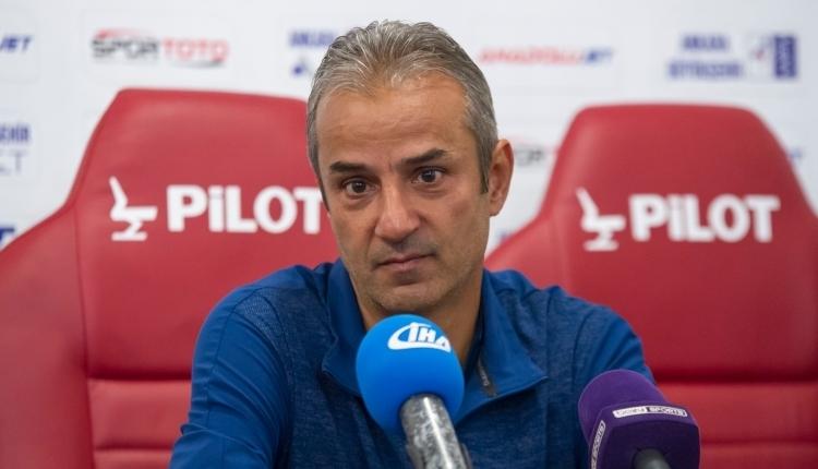 İsmail Kartal'dan Akhisarspor maçı açıklaması: ''Pozisyon vermedik''