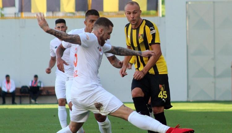 İstanbulspor 1-1 Adanaspor maç özeti ve golleri (İZLE)