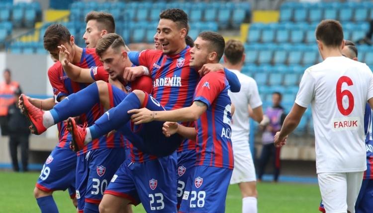 Kardemir Karabükspor 3-0 Körfezspor maç özeti ve golleri (İZLE)