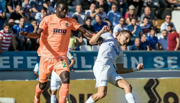 Kasımpaşa 1-2 Aytemiz Alanyaspor maç özeti ve golleri (İZLE)
