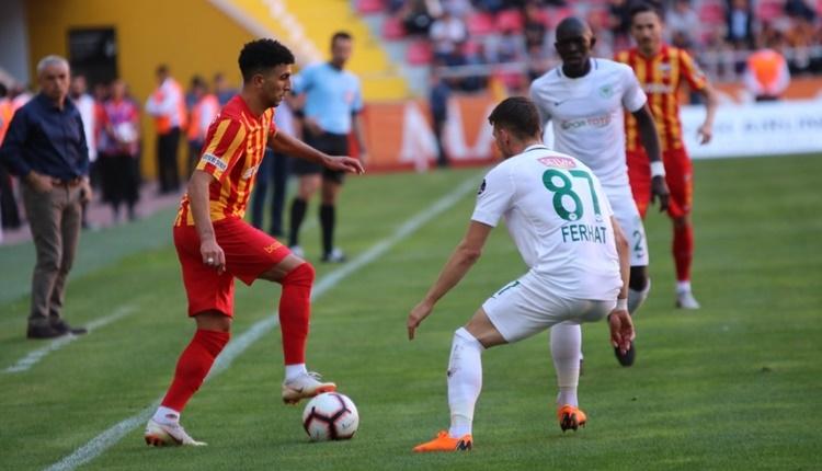 Kayserispor 0-2 Atiker Konyaspor maçın özeti ve golleri