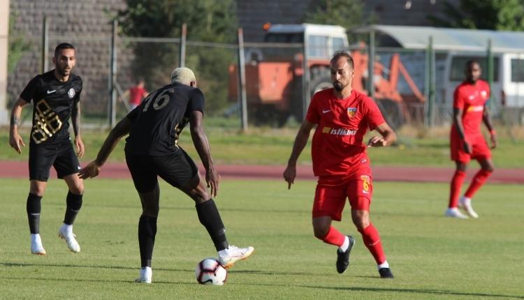 Kayserispor 1-1 Osmanlıspor maç özeti ve golleri