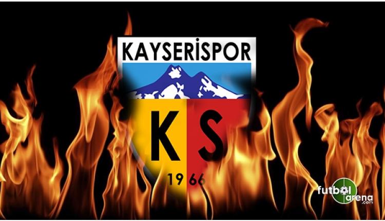 Kayserispor'dan açıklama:
