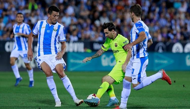 Leganes 2-1 Barcelona maç özeti ve golleri (İZLE)