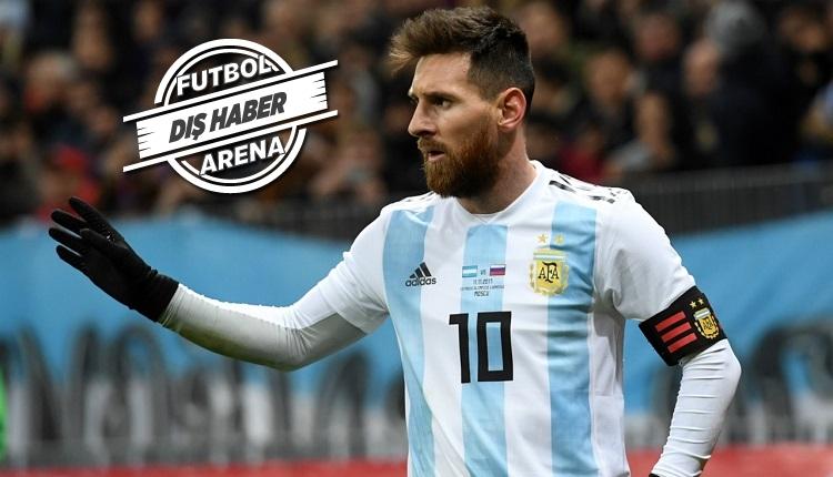 Messi Arjantin Milli Takım kadrosuna alınmadı
