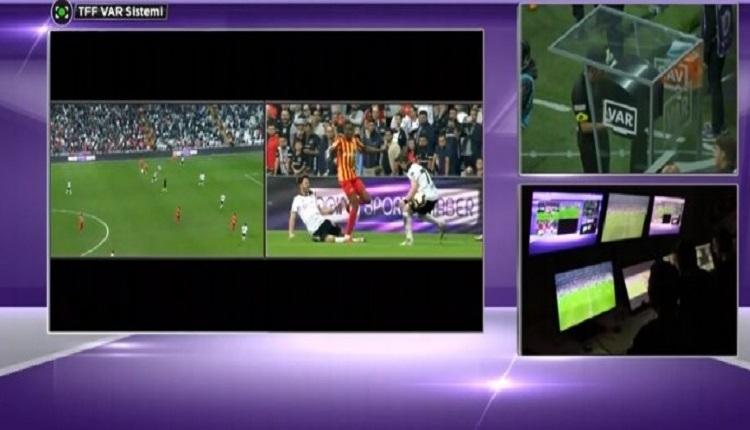 Quaresma'nın Kayserispor'a golünde Kayserispor'un hakeme itirazı