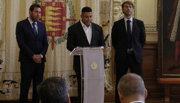 Ronaldo, Real Valladolid'i satın aldı