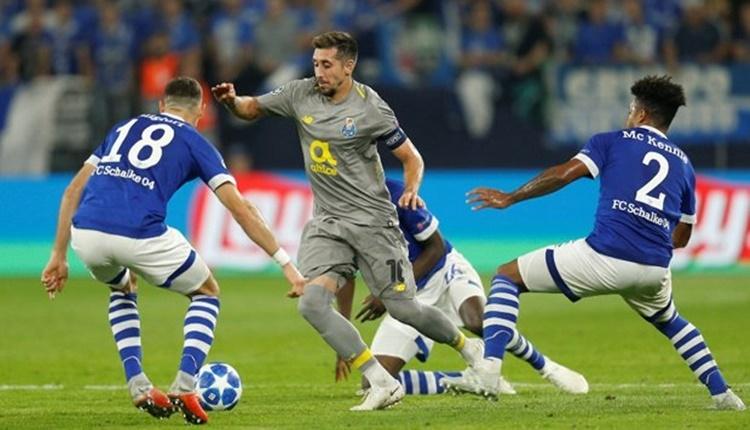 Schalke 04 1-1 Porto maçın özeti ve golleri