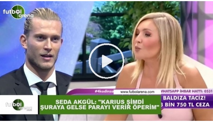 Seda Akgül'ün Karius'a öpücük videosu İZLE (Seda Akgül kimdir, kaç yaşında, evli mi?)