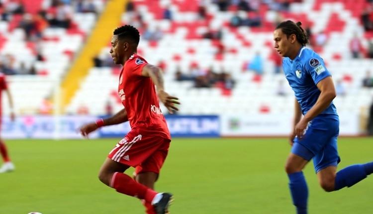 Sivasspor 2-2 Erzurumspor maç özeti ve golleri