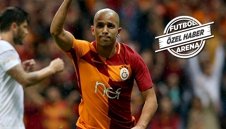 Sofiane Feghouli'den transfer iddialarına cevap!