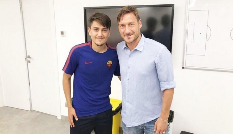 Totti ve De Rossi arasında Cengiz Ünder diyaloğu