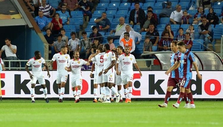Trabzonspor 1-2 Göztepe maçın özeti ve golleri