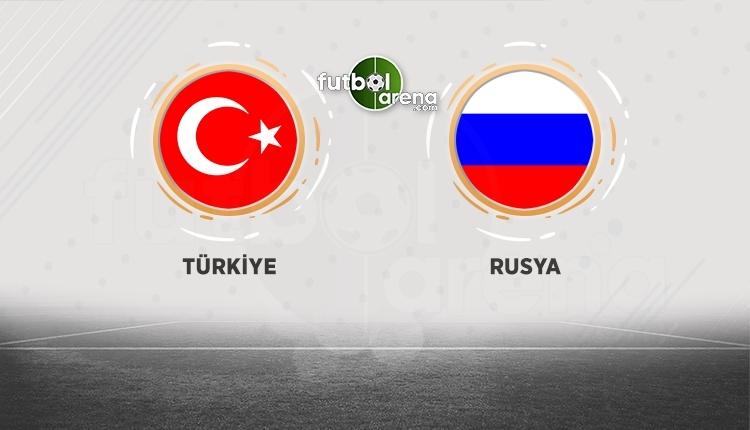 Türkiye - Rusya maçı hangi kanalda? Açıklama!
