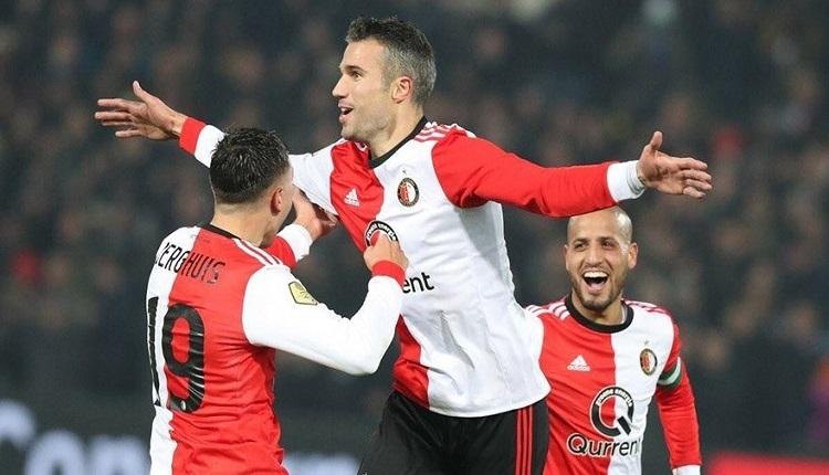 Van Persie Feyenoord - NAC Breda maçında 2 golle yıldızlaştı