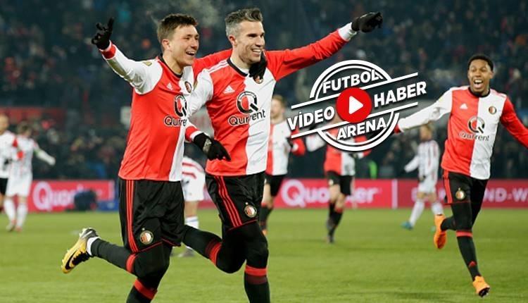 Van Persie'nin frikik golüyle Feyenoord kazandı (İZLE)