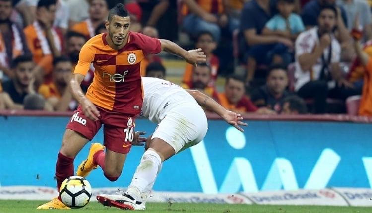 Younes Belhanda, Trabzonspor maçında kızardı