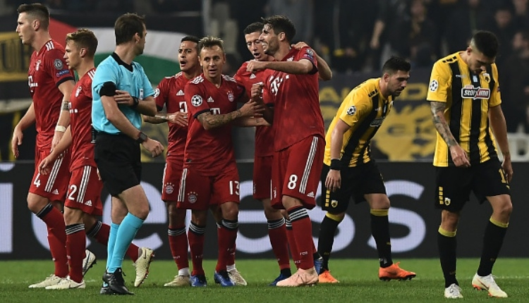 AEK 0-2 Bayern Münih maç özeti izle (Şampiyonlar Ligi maç özetleri izle)