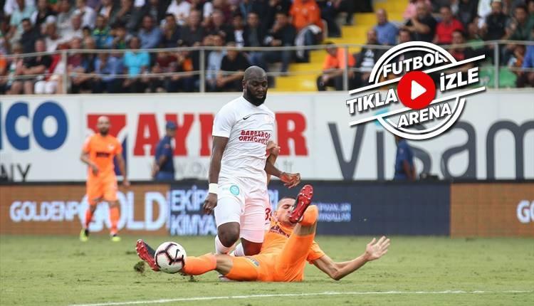 Alanyaspor 0-1 Antalyaspor maçı özeti ve golü (İZLE)