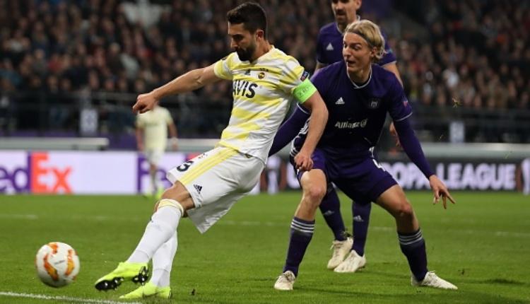 Anderlecht 2-2 Fenerbahçe maç özeti ve golleri izle (UEFA Avrupa Ligi maç özetleri izle)