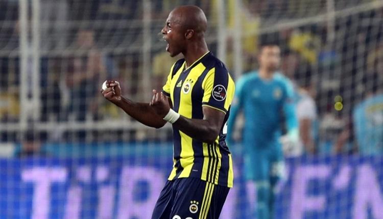 Andre Ayew, Fenerbahçe'ye bu sezon ilki yaşattı