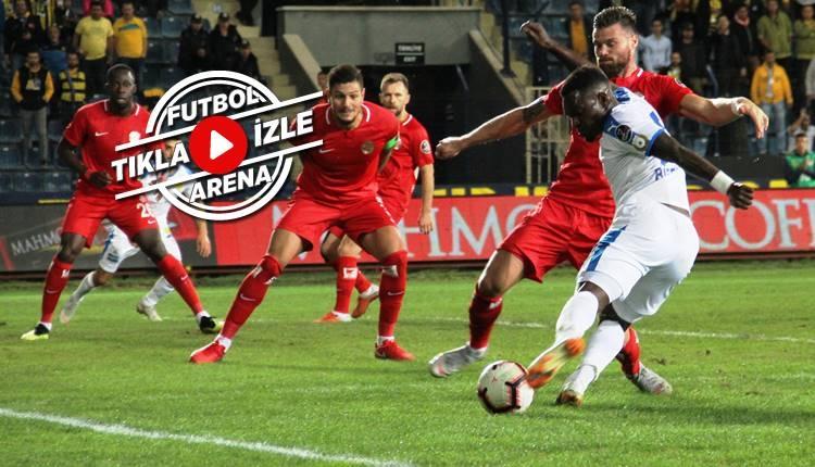 Ankaragücü 0-1 Antalyaspor maçı özeti ve golü (İZLE)