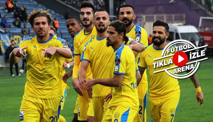 Ankaragücü 1-0 Yeni Malatyaspor maçı özeti ve golü (İZLE)