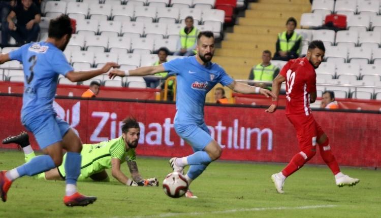 Antalyaspor 1-1 Yomraspor maç özeti ve golleri izle